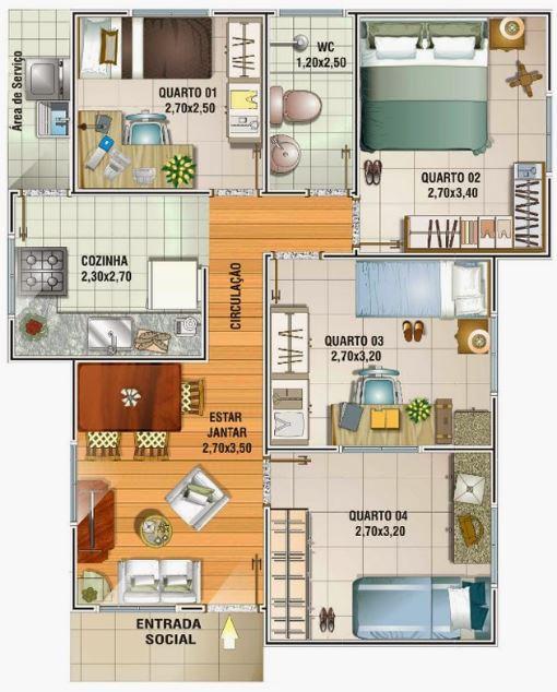 planos-de-casas-de-52-metros-cuadrados