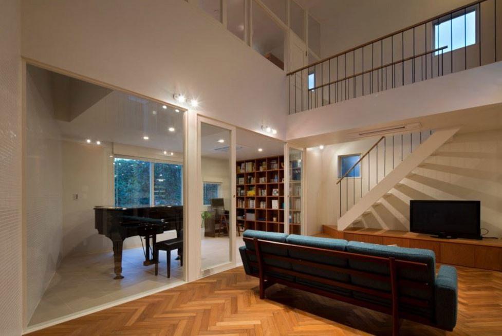 Casas con balcón interno