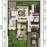 Departamento minimalista de 2 pisos
