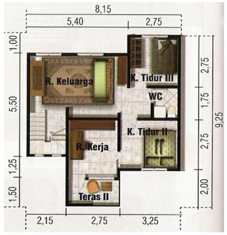 Plano de casa minimalista for Departamentos minimalistas planos