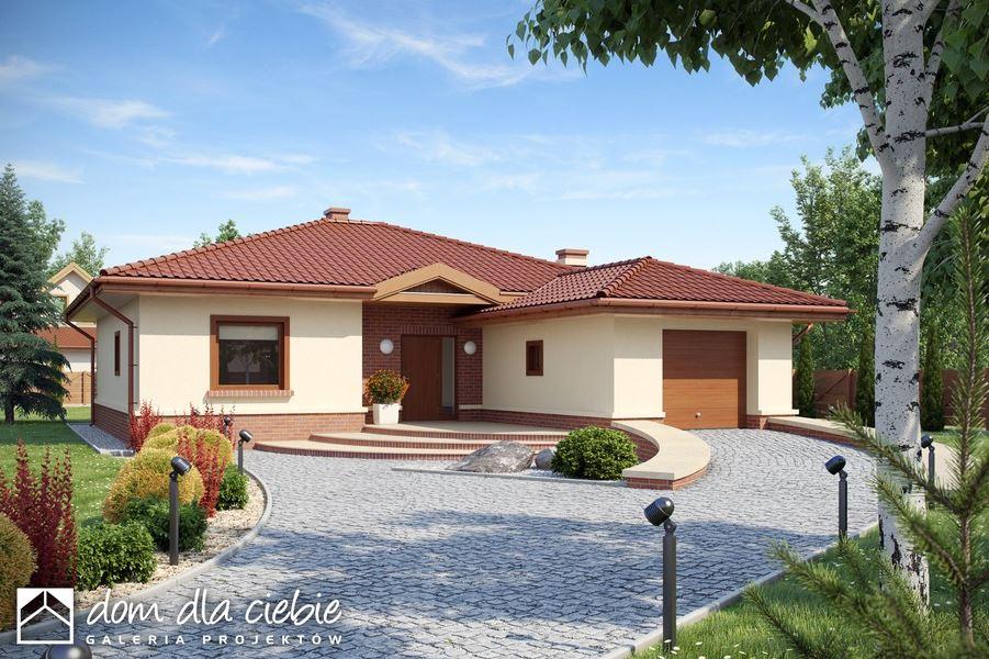 Plano de casa de 110 metros cuadrados - Casa de ladrillos ...