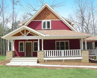 Modelo de casa con corredor al frente