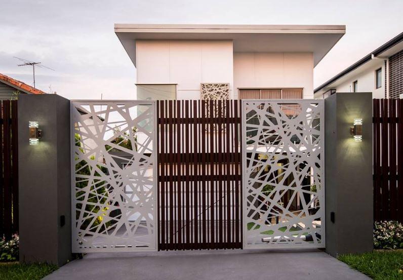 portones de metal para casas