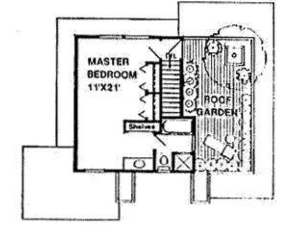 plano de casa de adobe de dos pisos