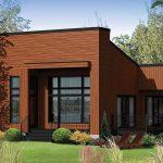 Casa de madera de 75 metros cuadrados