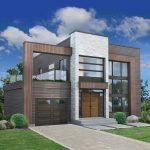 Casas de diseño moderno con 190 metros cuadrados