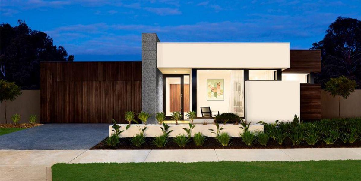 Plano de casa minimalista for Modelos de casas minimalistas de una planta
