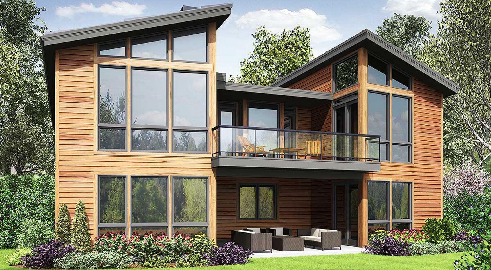 Casa en desnivel con 300m2 de superficie cubierta for Diseno de casa de 300 metros cuadrados