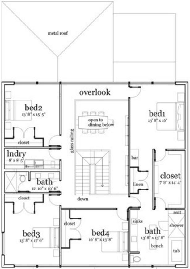 Plano de casa de 2 pisos y 300 metros cuadrados for Diseno de casa de 300 metros cuadrados