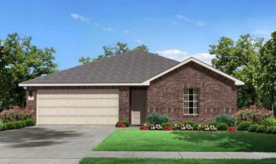 Plano de casa con techo a 4 aguas for Casas techos cuatro aguas