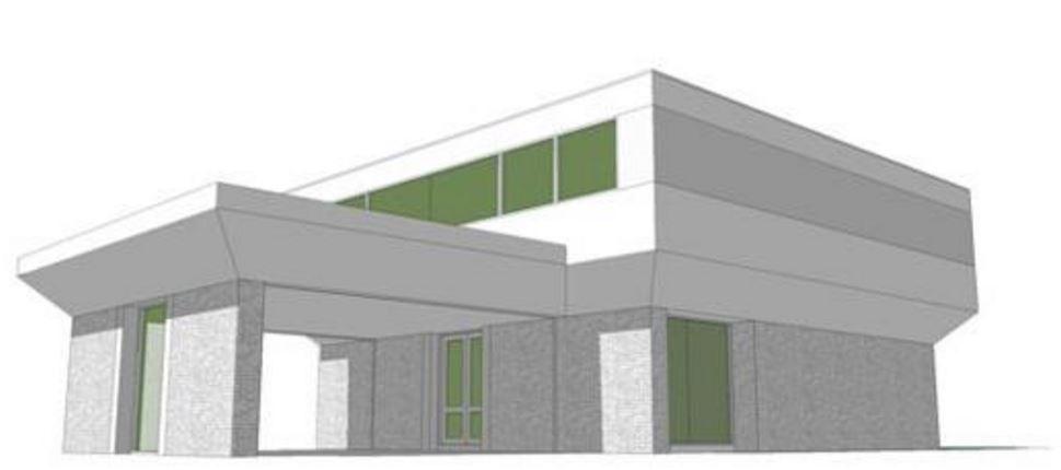 Plano de casa de 2 pisos y 300 metros cuadrados for Jardines 300 metros cuadrados