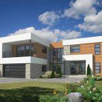 Plano de casa de 250 metros cuadrados y 4 dormitorios