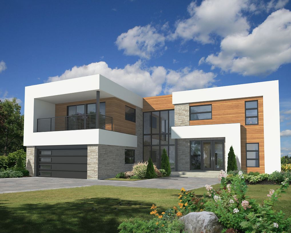 planos de casas de dos pisos de 250 metros cuadrados
