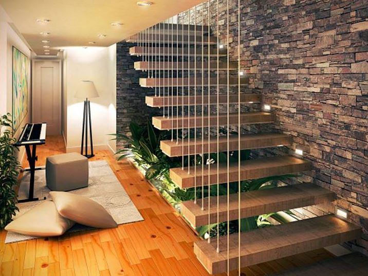 10 jardines debajo de escaleras - Decoracion para debajo de las escaleras ...