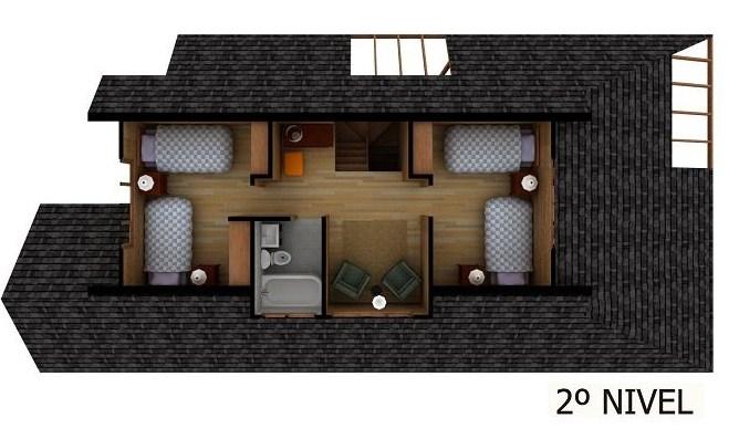 estos son todos los ambientes que contempla este modelo de casa de madera de pisos en d esperamos hayas disfrutado de este bonito diseo que acabamos de