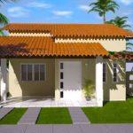 Plano de casa de 110 metros cuadrados