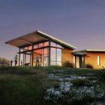 Casa vidriada prefabricada