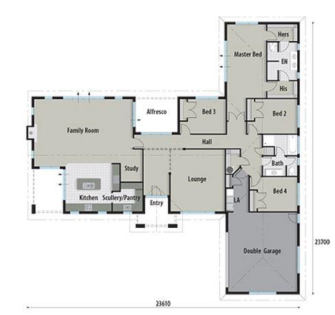 Planos de casas para 300 metros cuadrados t for Diseno de casa de 300 metros cuadrados