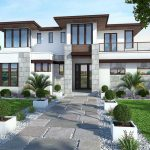Plano de casa de 470 m2 de superficie cubierta