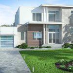 Plano de casa grande
