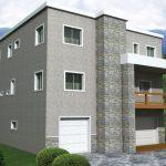 Planos de casas de tres pisos independientes