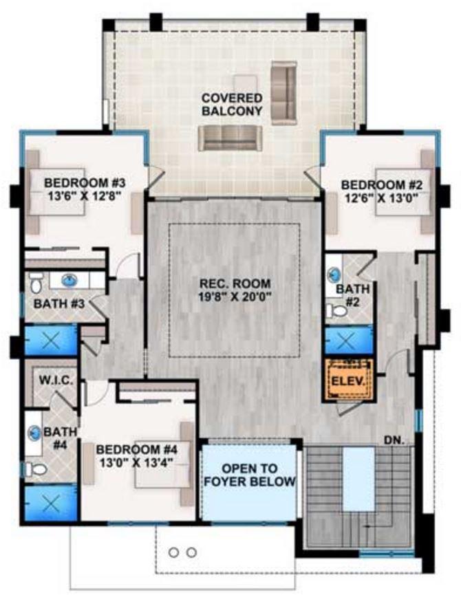 Planos de casas por partes for Planos arquitectonicos vivienda