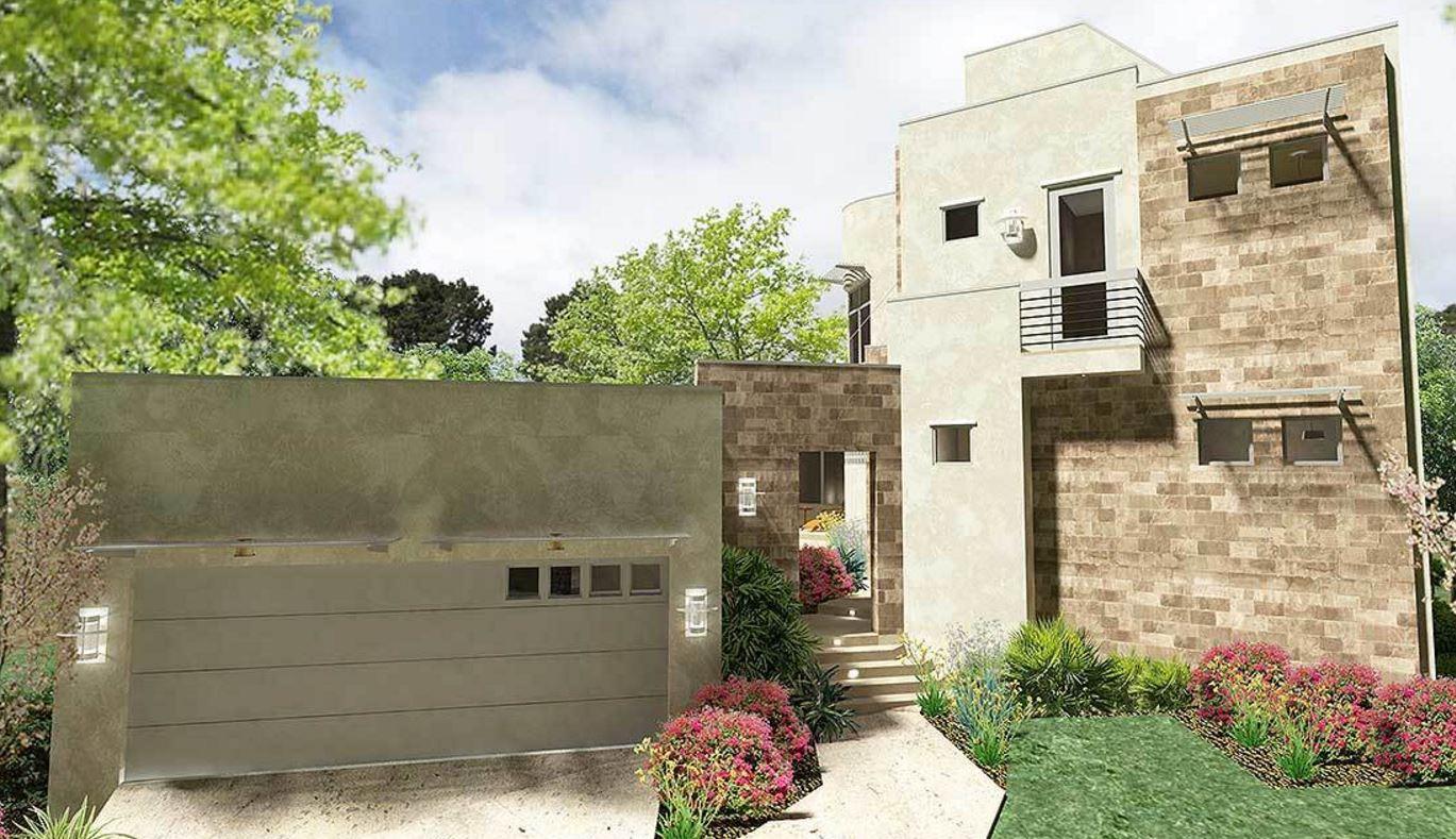 Plano de casa de 240 metros cuadrados for Casa 3 dormitorios