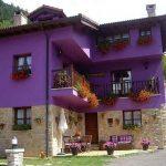 Fotos de fachadas de casas coloridas