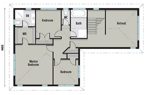 Planos y casas planos de casas plantas arquitect nicas for Planos de pisos de 3 dormitorios