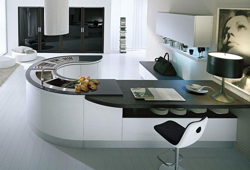 5 cocinas modernas for Casas modernas futuristas