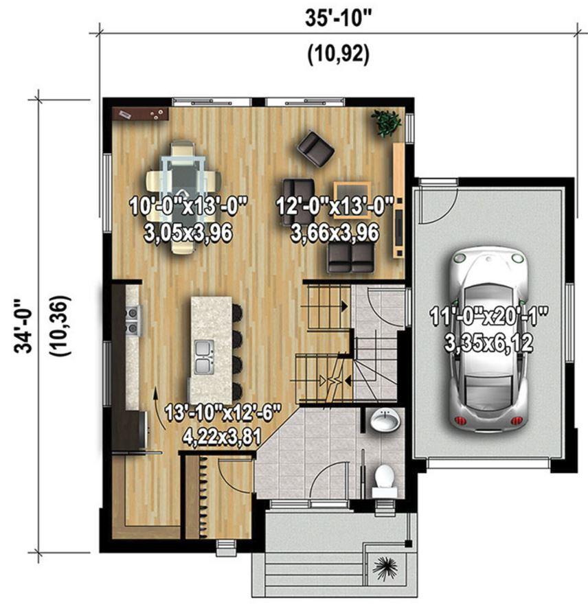 Casa De 2 Pisos Con 3 Dormitorios Y 160m2