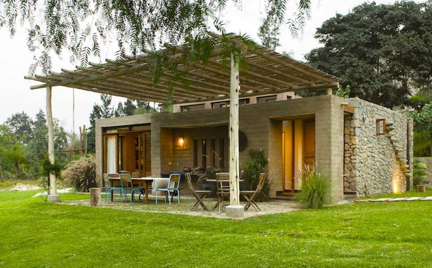 Modelo de casa rustica moderna - Casas de una planta ...