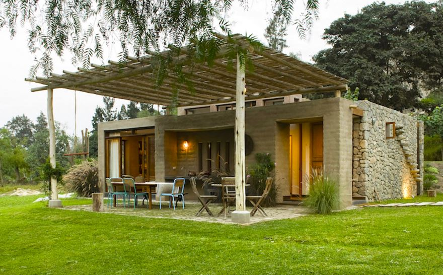 modelo de casa rustica moderna