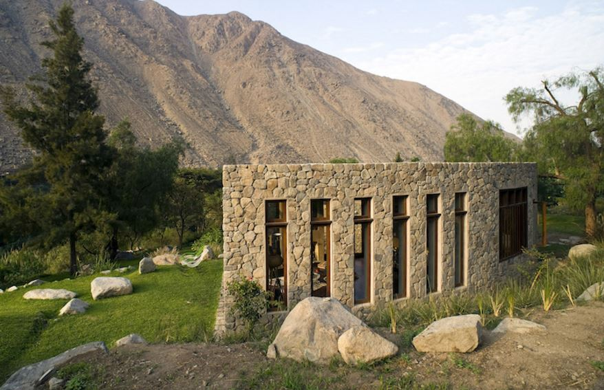 Casas rusticas modernas for Casas de una planta rusticas
