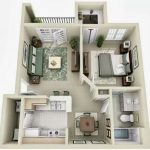 Departamentos pequeños en planos modernos