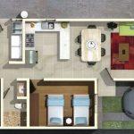 Casa angosta con 3 dormitorios