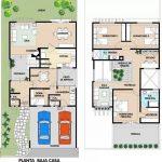 Casa con 2 plantas más terraza