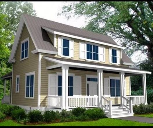 Planos y casas planos de casas plantas arquitect nicas for Fachadas de casas de 5 metros de ancho