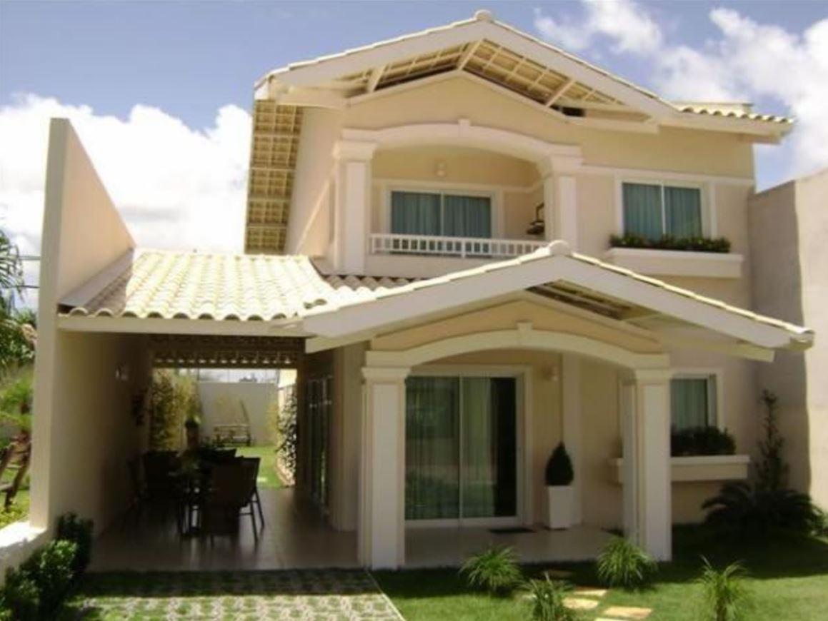 Fachadas de casas bonitas for Casas modernas clasicas