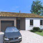 Plano casa 80 metros cuadrados 3 dormitorios