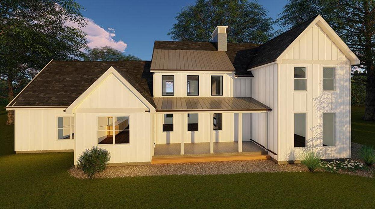 Dise o de casa de madera de dos pisos - Estructura casa madera ...