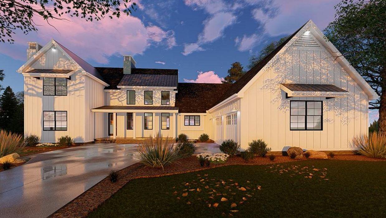 Casa de madera de 2 pisos for Www houseplans net