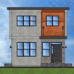 Casas 100 metros cuadrados 2 pisos