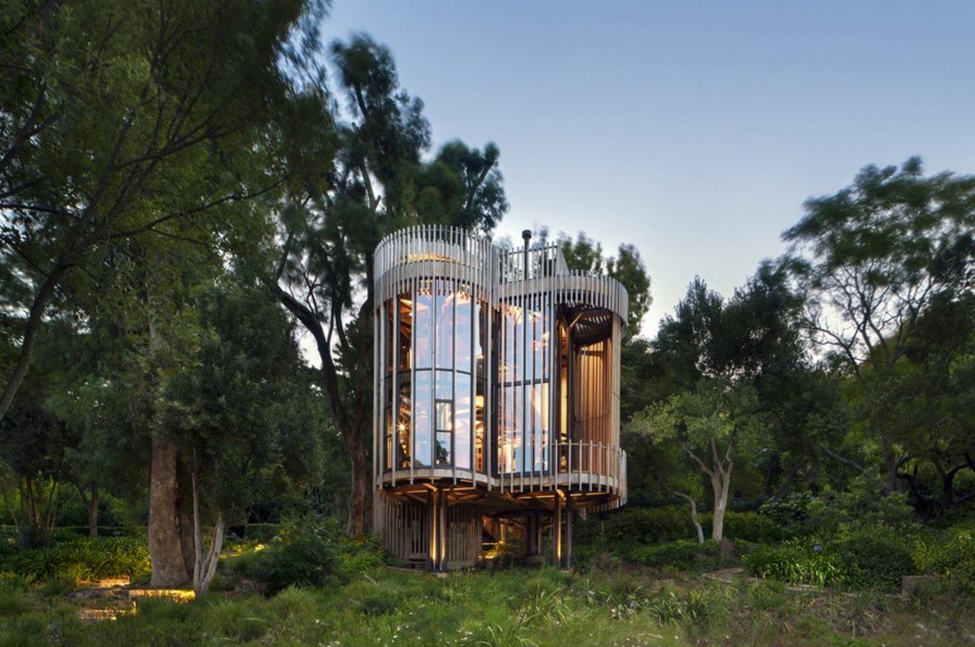 diseños de casas del arbol para niños