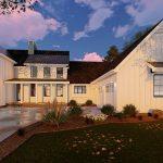 Casa de madera de 2 pisos
