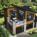 Plano de casa de 9×8 metros