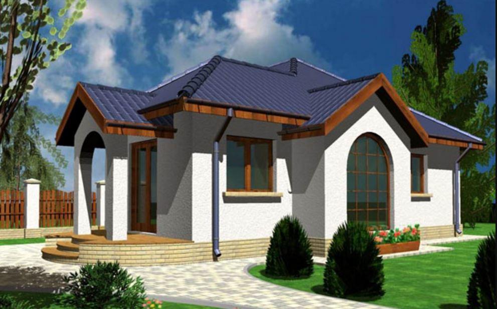 Dise o de casas de un dormitorio for Disenos de casas modernas por dentro