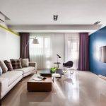 Plano de casa con interior moderno y elegante