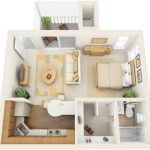 Departamentos pequeños | Planos en 3D y tradicionales