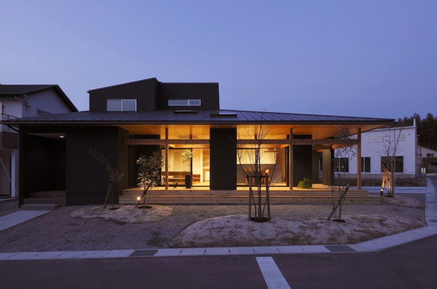Planos y casas planos de casas plantas arquitect nicas for Casa moderna japonesa